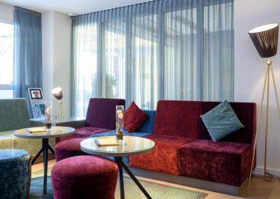 Mercure Hotel Dortmund Centrum Lobby Sitzecke Haupteingang
