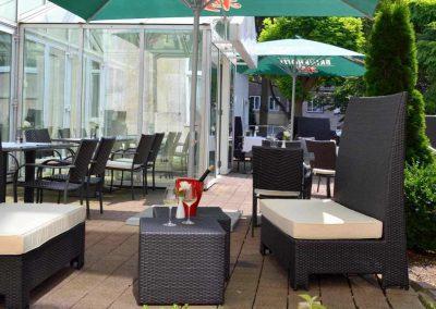Mercure Hotel Dortmund Centrum Terrasse