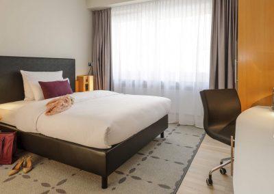 Mercure Hotel Dortmund Centrum Zimmer Queenbett