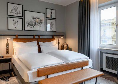 Mercure Hotel Dortmund Centrum Doppelzimmer Fensterperspektive