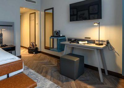 Mercure Hotel Dortmund Centrum Privilege Zimmer Schreibtisch
